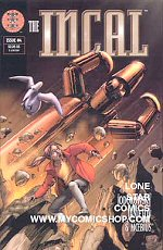cover: The Incal #4 (November 2001)