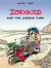 cover: Iznogoud and the Jigsaw Turk