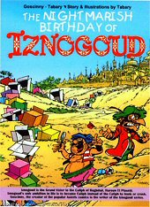 cover: Iznogoud - The Nightmarish Birthday of Iznogoud