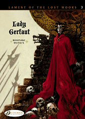 cover: Lament of the Lost Moors - Lady Gerfaut