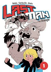 cover: Last Man - The Stranger