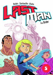 cover: Last Man - The Order