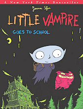 cover: Little Vampire Goes to School