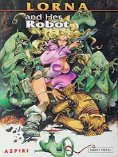 cover: Lorna - Lorna and Her Robot