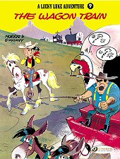 cover: Lucky Luke - The Wagon Train