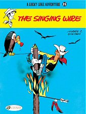 cover: Lucky Luke - The Singing Wire