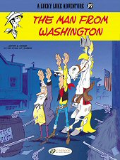 cover: Lucky Luke - The Man from Washington