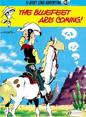 cover: Lucky Luke - The Bluefeet are Coming!