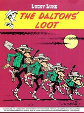 cover: Lucky Luke - The Daltons' Loot