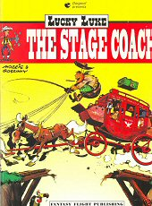 cover: Lucky Luke - The Stage Coach