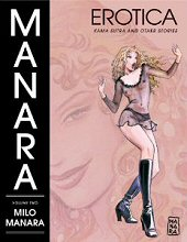 cover: Manara Erotica Volume Two: Kama Sutra and Other Stories