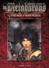 cover: The Metabarons - #3: Steelhead & Dona Vicenta