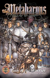 cover: The Metabarons - Path of the Warrior