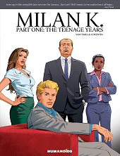 cover: Milan K. - Part One: The Teenage Years