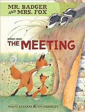 cover: Mr. Badger and Mrs. Fox - The Meeting