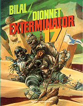 cover: Exterminator 17 by Enki Bilal