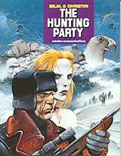 cover: The Hunting Party by Enki Bilal