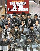 cover: The Ranks of the Black Order by Enki Bilal