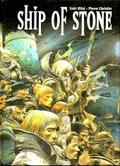 cover: Ship of Stone by Enki Bilal