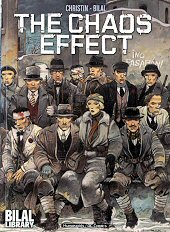 cover: The Chaos Effect by Enki Bilal