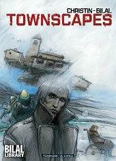 cover: Townscapes by Enki Bilal