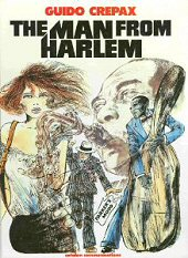 cover: The Man from Harlem by Guido Crepax