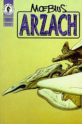 cover: Arzach by Jean 'Moebius' Giraud