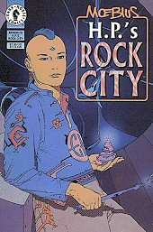 cover: H.P.'s Rock City by Jean 'Moebius' Giraud
