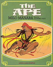 cover: The Ape by Milo Manara