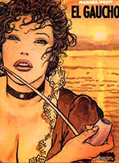 cover (dust jacket): El Gaucho by Milo Manara and Hugo Pratt