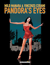 cover: Pandora's Eyes by Milo Manara