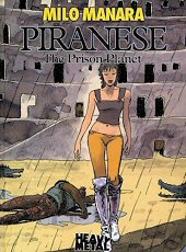 cover: Piranese - The Prison Planet by Milo Manara