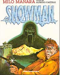 cover: The Snowman by Milo Manara
