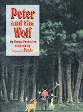 cover: Peter and the Wolf by Miguelanxo Prado