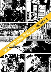 cover: Like a Sniper Lining Up His Shot by Jacques Tardi