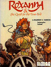 cover: Roxanna & the Quest for the Time Bird - Ramor's Conch