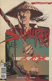 cover: Samurai: Brothers in Arms #1C