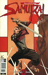 cover: Samurai: Brothers in Arms #3B