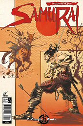 cover: Samurai: Brothers in Arms #4