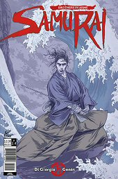 cover: Samurai: Brothers in Arms #4B