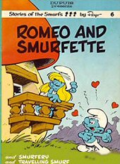 cover: Romeo and Smurfette