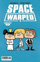 cover: Space Warped issue #1 B