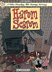 cover: The Spiffy Adventures of McConey - Harum Scarum