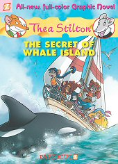 cover: Thea Stilton - The Secret of Whale Island