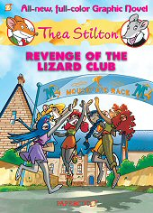 cover: Thea Stilton - Revenge of the Lizard Club