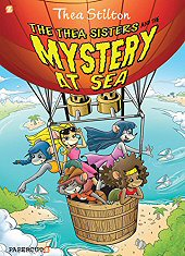 cover: Thea Stilton - The Thea Sisters and the Mystery at Sea