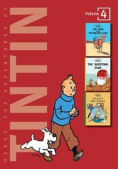 cover: The Adventures of Tintin #4