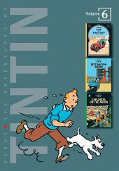 cover: The Adventures of Tintin #6