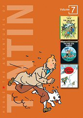 cover: The Adventures of Tintin #7
