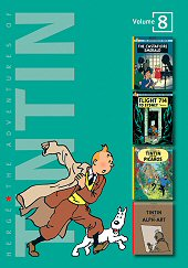 cover: The Adventures of Tintin #8